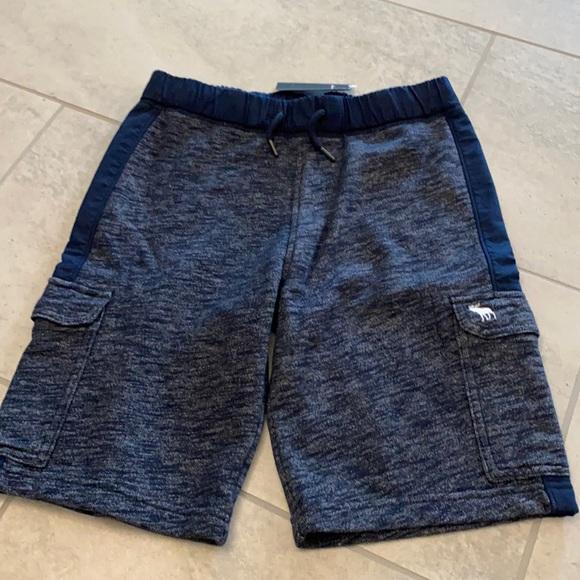 Brand new Boys Abercrombie sweat shorts